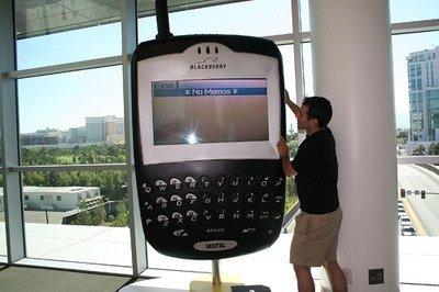 El Blackberry más grande del mundo