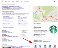 Los resultados de Knowledge Graph de Google ahora muestran los perfiles sociales de las marcas