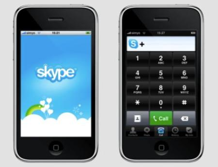 Skype para iPhone y iPod Touch