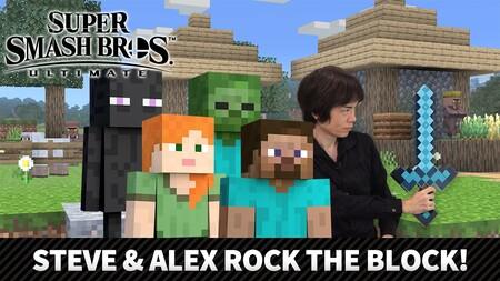 Todo lo que necesitas saber sobre Steve y Alex de Minecraft en Super Smash Bros. Ultimate y la versión 9.0