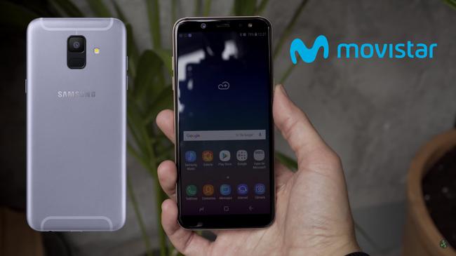 Precios Samsung Galaxy A6 y Galaxy A6+ con Movistar
