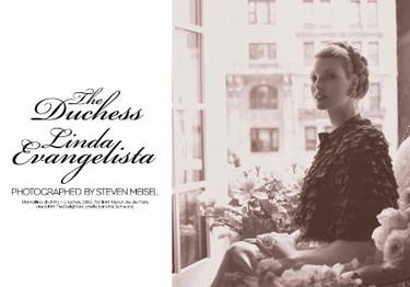 Linda Evangelista para Vogue Italia