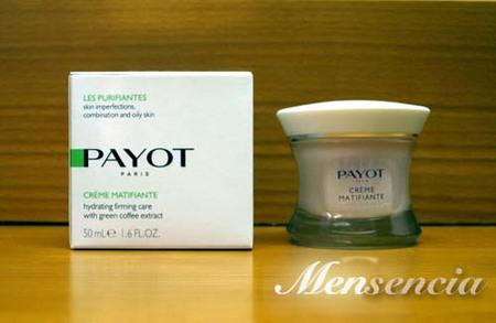 Probé la Crème Matifiante de Payot