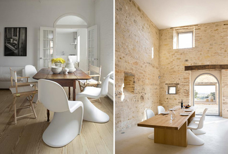 Proyecto minue: sillas - panton