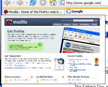 Extensiones de Firefox con Vista Previa