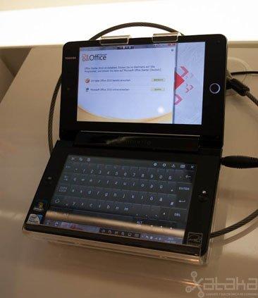 Toshiba Libretto W100 3