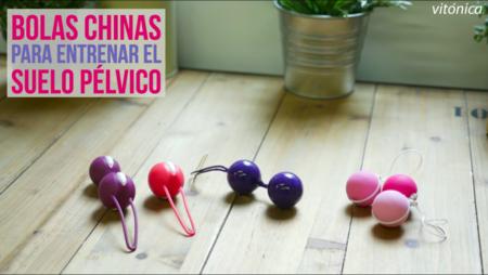 Así se utilizan las bolas chinas para entrenar tu suelo pélvico (con vídeo explicativo)