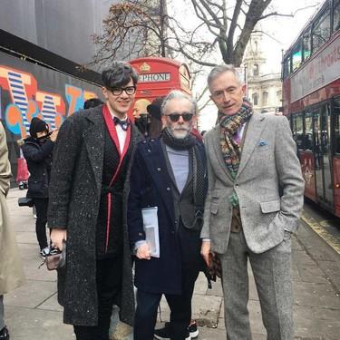 Los hombres más elegantes de Londres le hacen frente al frío con la armadura perfecta: el abrigo