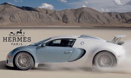 Bugatti y la marca de lujo Hermès presentarán una edición especial del Veyron en Ginebra