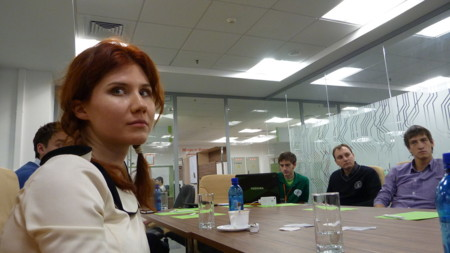 Anna Chapman 2011 At The Icamp Conference In Kazan Tatarstan Russia 055