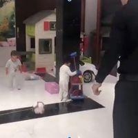 El vídeo de Ronaldo jugando con sus mellizos que reaviva el debate sobre los estereotipos de género