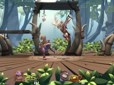 Brawlout, un juego con todo el estilo de Smash Bros llegará a Xbox One, PS4 y PC