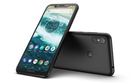 Motorola One Power India Black Laydown Combo