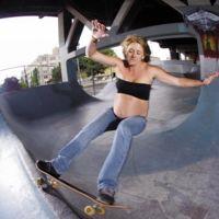 Skateboard embarazada