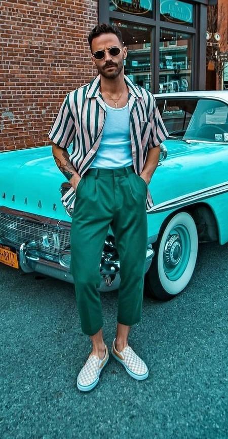 El Mejor Street Style De La Semana Adopta El Color Verde Como El Preferido Para La Transicion 08