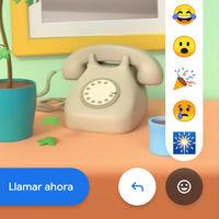 Google Duo estrena las reacciones: así puedes responder a los mensajes con un emoji
