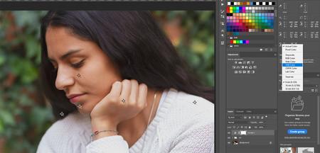 puntos de color en photoshop