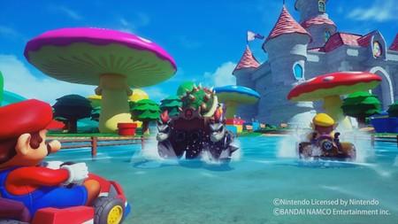 La recreativa de realidad virtual Mario Kart Arcade GP VR se deja ver al detalle en un nuevo gameplay
