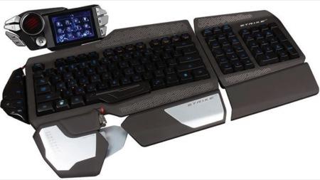 Mad Catz Cyborg S.T.R.I.K.E. 7 es el teclado compañero de los ratones R.A.T.