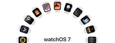 Estas son todas las novedades de watchOS 7: configuración familiar, nuevas esferas, modo sueño, más entrenos mejoras en Siri y más
