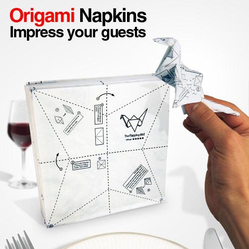 Servilletas origami - Origami con servilletas ...