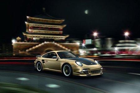 Porsche 911 Turbo S edición décimo aniversario en China