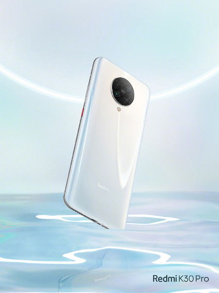 Redmi K30 Pro Imagen Oficial Blanco