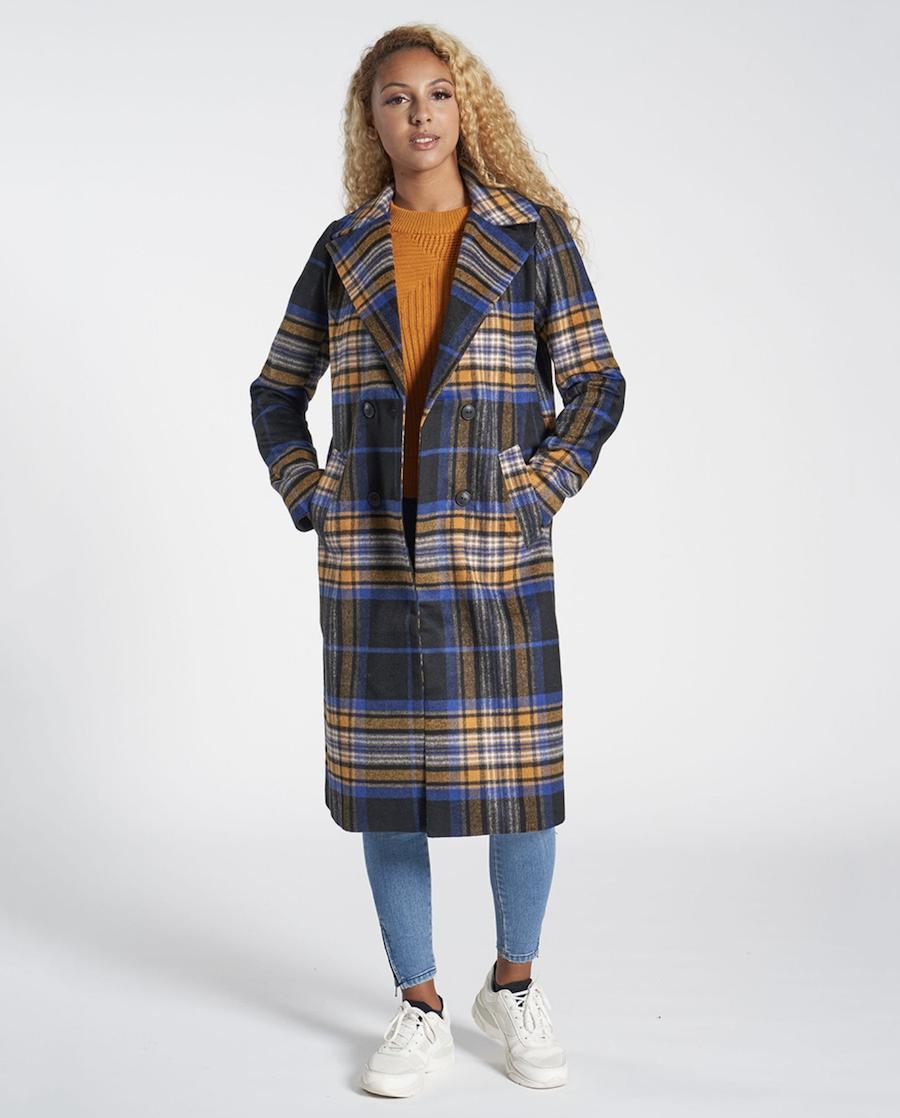 Abrigo de mujer largo de manga larga
