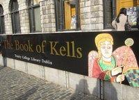 La Long Room y el Libro de Kells en Dublín
