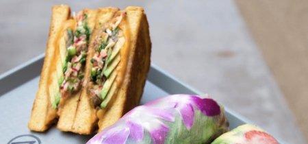TrendInFood: las flores comestibles llegan a adornar los rollos vietnamitas