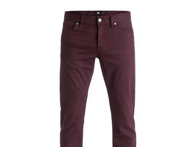 Por 21,10 euros puedes hacerte con unos pantalones DC Slim colour sin pagar envío gracias a Ebay