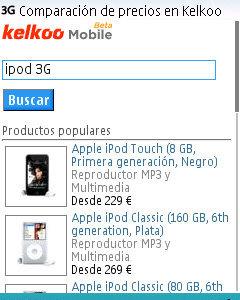 Kelkoo, compara precios desde el móvil