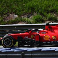 Charles Leclerc, en el ojo del huracán: chocó contra Sebastian Vettel y destrozó los dos coches de Ferrari