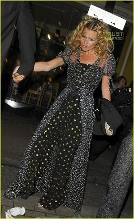Kate Moss celebra su 34 aniversario de Chanel