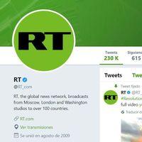 Twitter no mostrará publicidad del medio ruso RT por interferir en las presidenciales estadounidenses