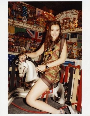Leighton Meester en la campaña de Missoni Primavera-Verano 2011