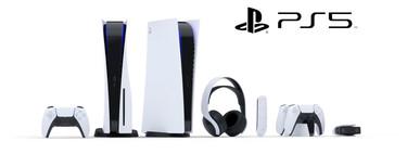 Así lucen todos los periféricos de PS5 junto con más detalles de sus funcionalidades
