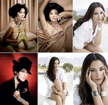 Monica Belluci imagen de Cartier, se revive el glamour italiano