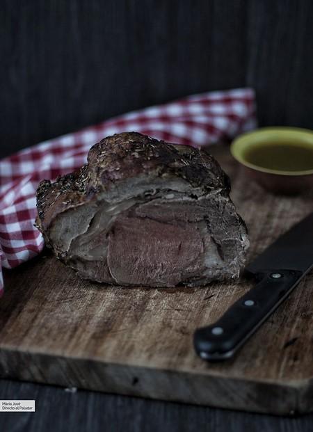 Rosbif o roast beef. Receta para amantes de la carne