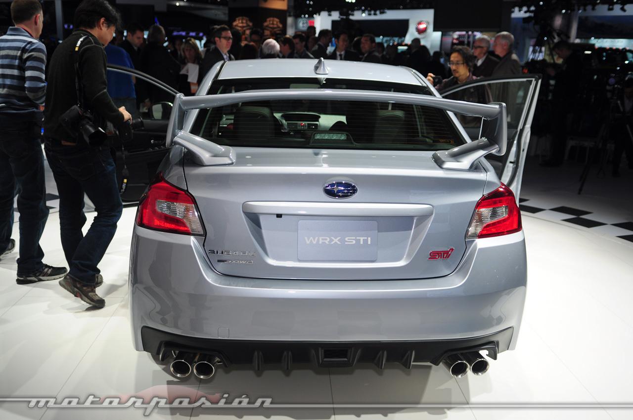 Foto de Subaru WRX STI 2014 (Salón de Detroit) (9/11)