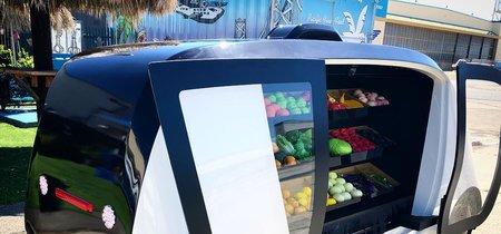 Robomart, así es la tienda de alimentos robótica móvil más accesible del mundo