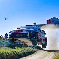 Elfyn Evans gana en Portugal y Dani Sordo salva la honra de Hyundai logrando el primer podio del año