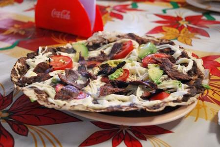 Tlayuda Oaxaca Street Food