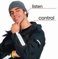 Ropa para controlar tu iPod