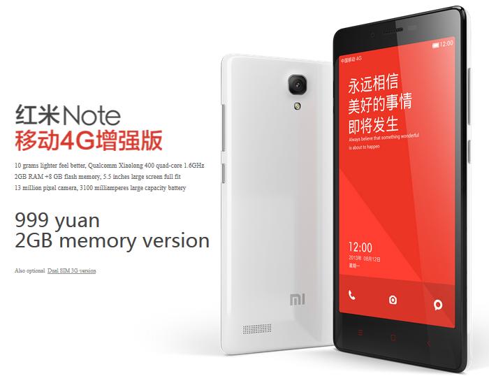 Xiaomi Redmi Note 4g 1 4