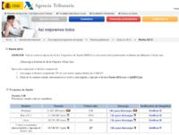 Renta 2012: Descarga del programa PADRE