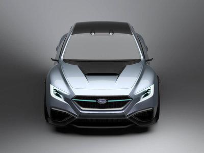 Subaru VIZIV Performance Concept: Un vistazo al WRX STi de los próximos años