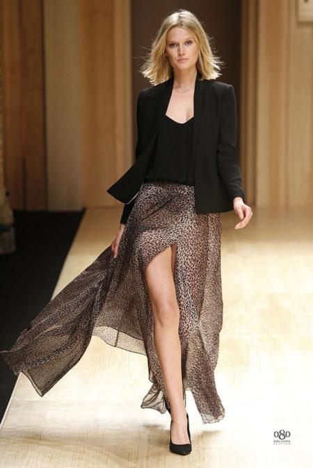 Mango abre la 080 Barcelona Fashion con  Toni Garrn .jpg