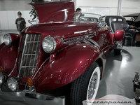 1935 Auburn 851 SC Boattail Speedster en el Antic Auto Alicante 2008