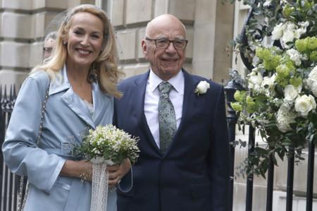 Dicen que el amor es ciego y que no tiene edad pero qué tendrá que ver Mick Jagger con Rupert Murdoch